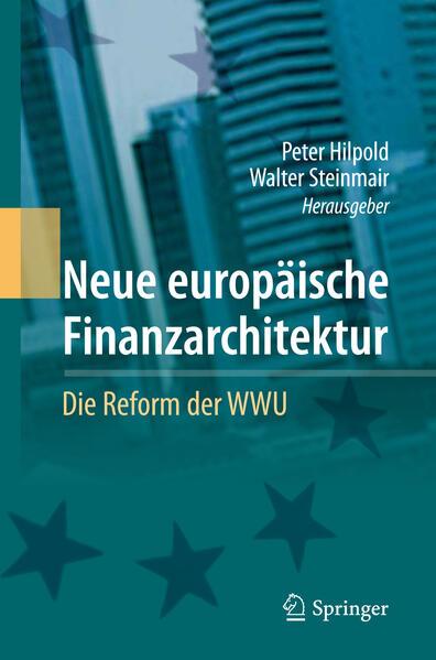 Neue europäische Finanzarchitektur - Coverbild