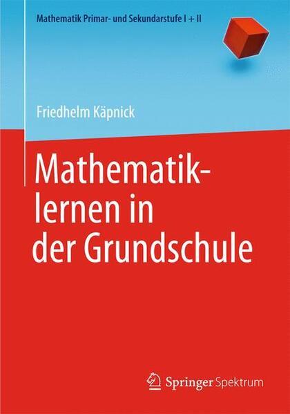 Mathematiklernen in der Grundschule - Coverbild