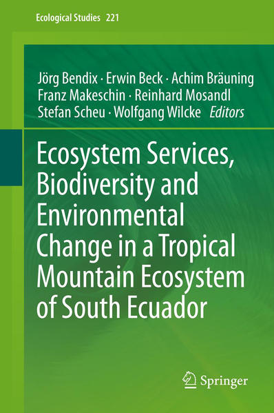 Ecosystem Services, Biodiversity and Environmental Change in a Tropical Mountain Ecosystem of South Ecuador - Coverbild