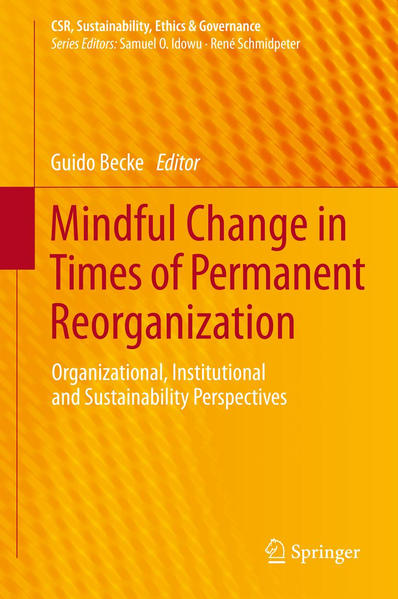 Mindful Change in Times of Permanent Reorganization - Coverbild