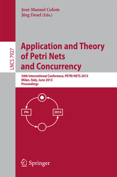 Application and Theory of Petri Nets and Concurrency - Coverbild