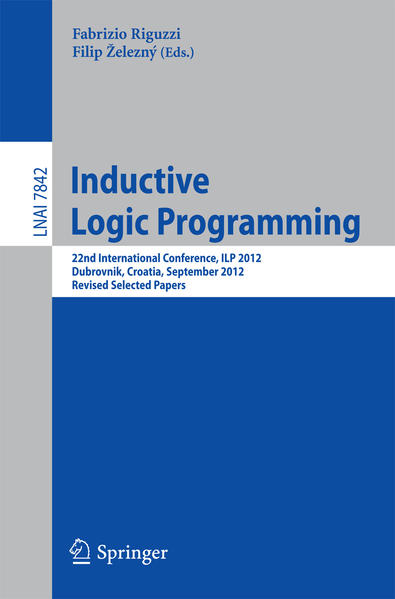 Inductive Logic Programming - Coverbild