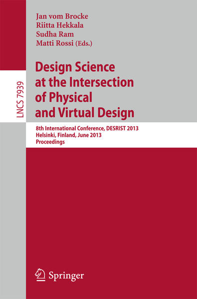 Design Science at the Intersection of Physical and Virtual Design - Coverbild