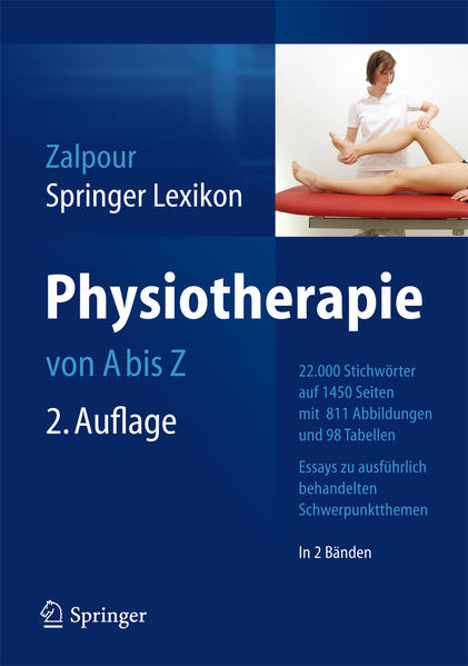 Springer Lexikon Physiotherapie - Coverbild