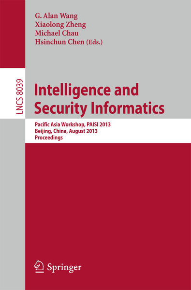 Intelligence and Security Informatics - Coverbild