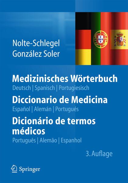 Medizinisches Wörterbuch/Diccionario de Medicina/Dicionário de termos médicos - Coverbild