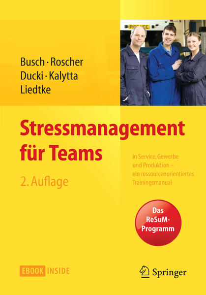 Stressmanagement für Teams - Coverbild