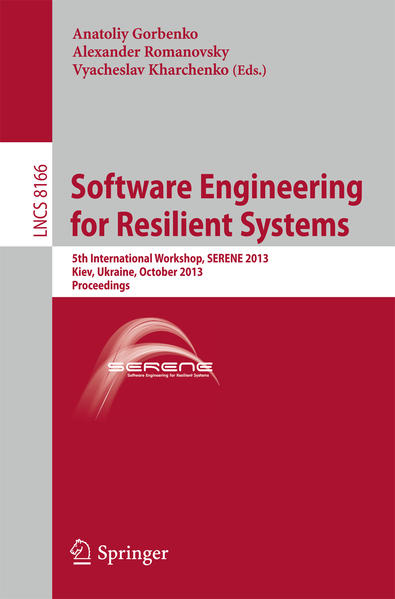Software Engineering for Resilient Systems - Coverbild
