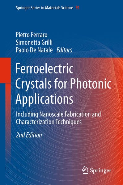 Ferroelectric Crystals for Photonic Applications - Coverbild