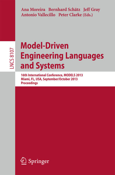 Model-Driven Engineering Languages and Systems - Coverbild