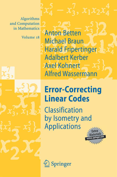 Error-Correcting Linear Codes - Coverbild