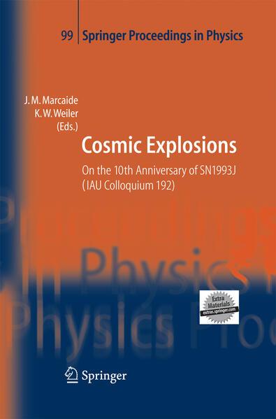 Cosmic Explosions - Coverbild