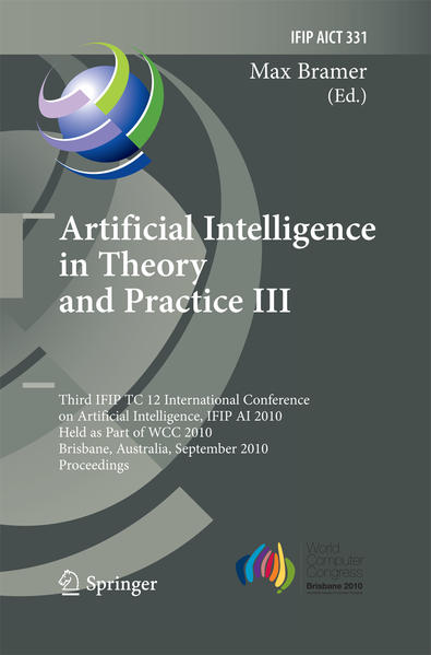 Artificial Intelligence in Theory and Practice III - Coverbild