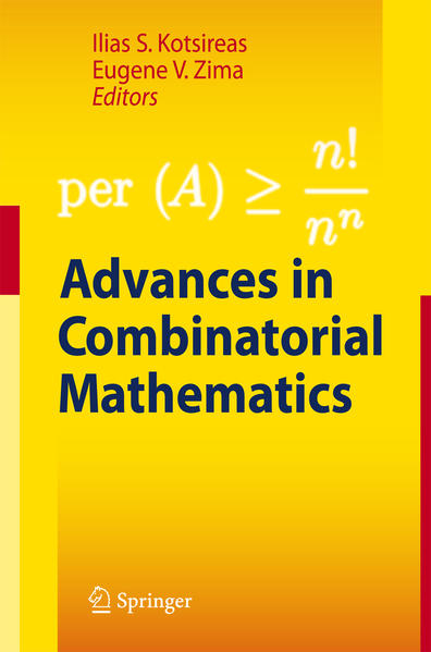 Advances in Combinatorial Mathematics - Coverbild