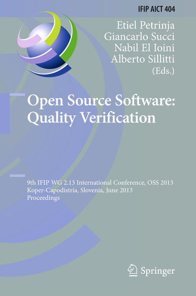 Open Source Software: Quality Verification - Coverbild