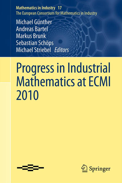 Progress in Industrial Mathematics at ECMI 2010 - Coverbild