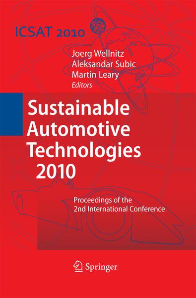 Sustainable Automotive Technologies 2010 - Coverbild