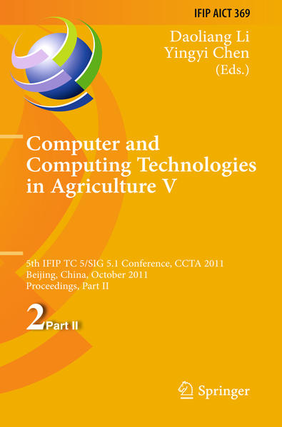 Computer and Computing Technologies in Agriculture - Coverbild