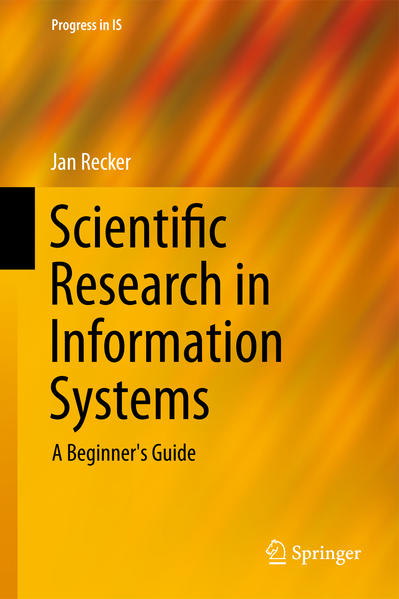 Scientific Research in Information Systems - Coverbild