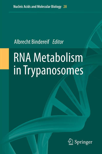 RNA Metabolism in Trypanosomes - Coverbild