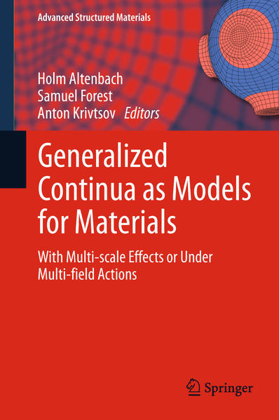 Generalized Continua as Models for Materials - Coverbild