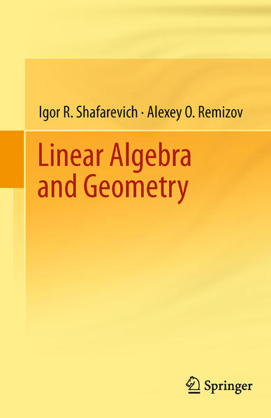 Linear Algebra and Geometry - Coverbild