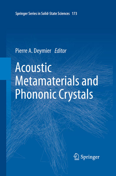 Acoustic Metamaterials and Phononic Crystals - Coverbild