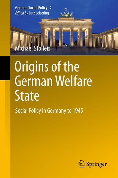 Origins of the German Welfare State - Coverbild
