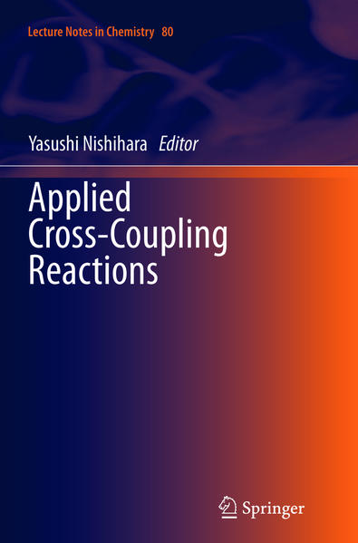 Applied Cross-Coupling Reactions - Coverbild
