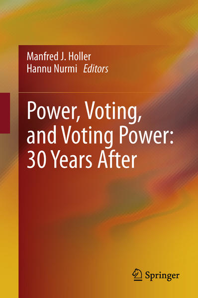 Power, Voting, and Voting Power: 30 Years After - Coverbild