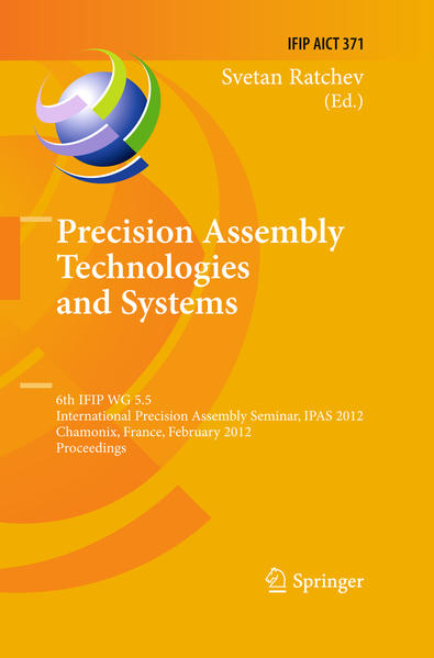 Precision Assembly Technologies and Systems - Coverbild
