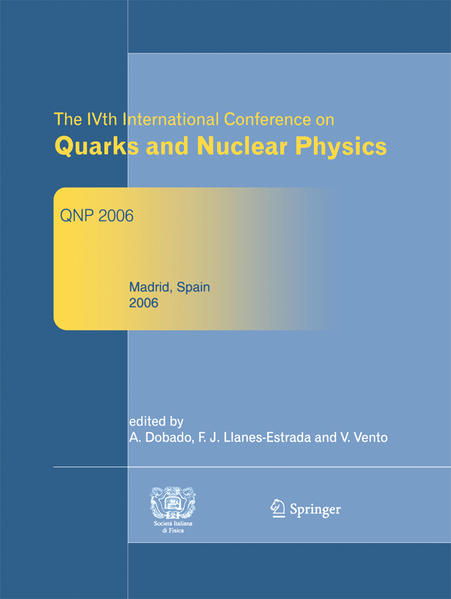 The IVth International Conference on Quarks and Nuclear Physics - Coverbild