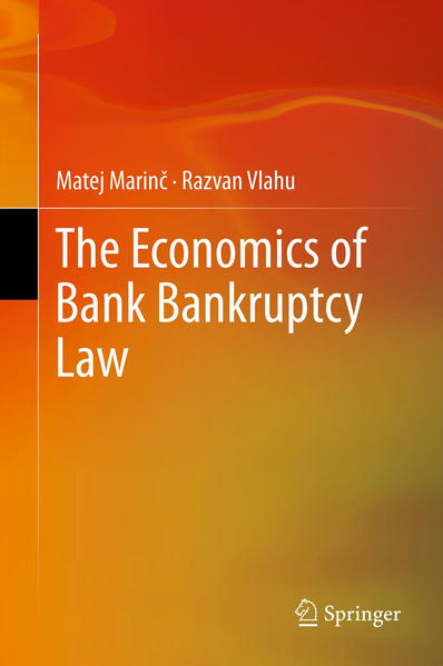 The Economics of Bank Bankruptcy Law - Coverbild
