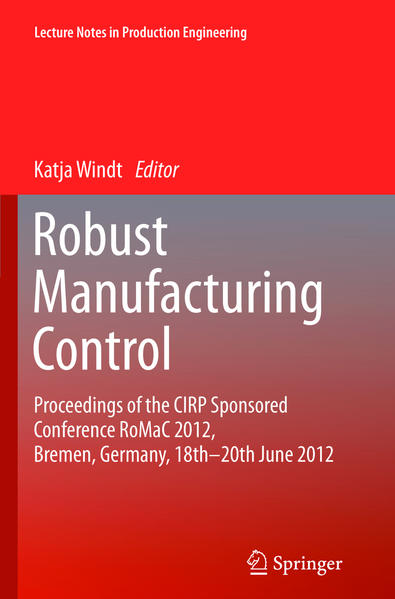 Robust Manufacturing Control - Coverbild