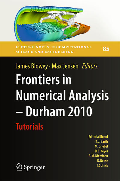 Frontiers in Numerical Analysis - Durham 2010 - Coverbild
