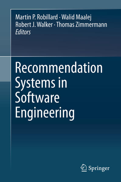 Recommendation Systems in Software Engineering - Coverbild