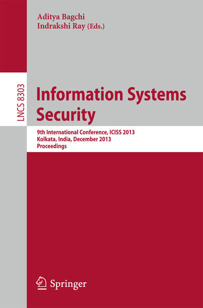 Information Systems Security - Coverbild
