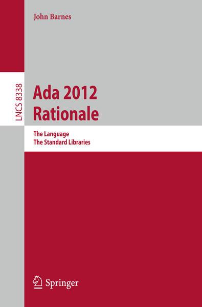 Ada 2012 Rationale - Coverbild