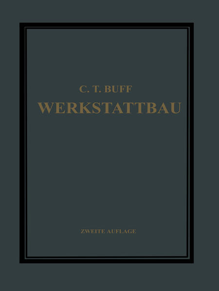 Werkstattbau - Coverbild