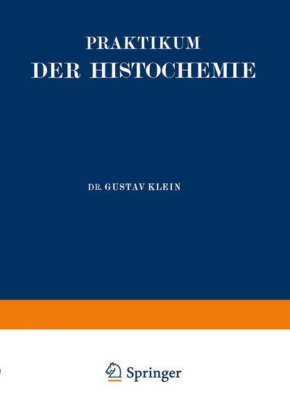 Praktikum der Histochemie - Coverbild