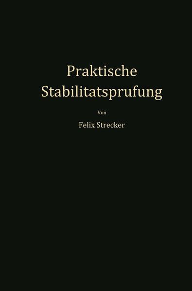 Praktische Stabilitätsprüfung - Coverbild