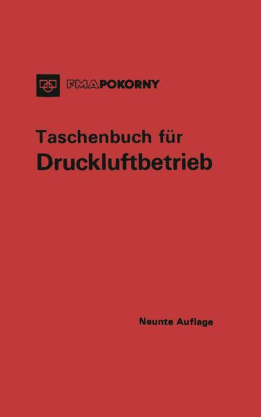 Taschenbuch für Druckluftbetrieb - Coverbild