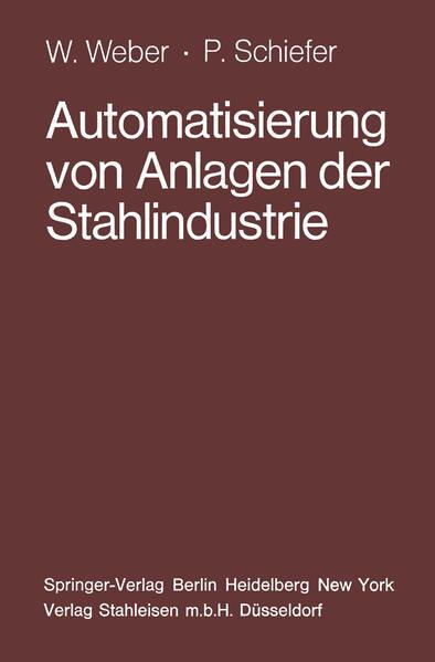 Automatisierung von Anlagen der Stahlindustrie - Coverbild
