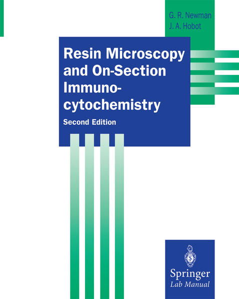 Resin Microscopy and On-Section Immunocytochemistry - Coverbild
