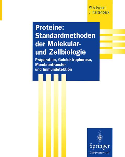 Proteine: Standardmethoden der Molekular- und Zellbiologie - Coverbild