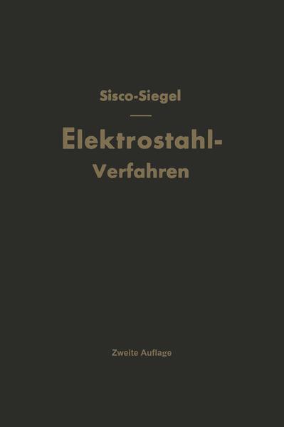 Das Elektrostahlverfahren - Coverbild