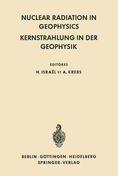 Nuclear Radiation in Geophysics / Kernstrahlung in der Geophysik - Coverbild