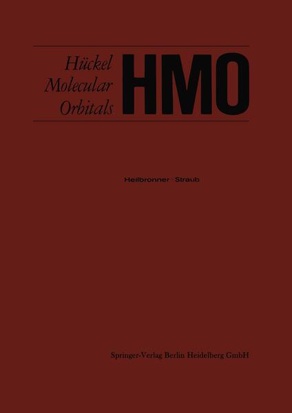 HMO Hückel Molecular Orbitals - Coverbild