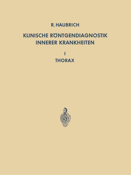 Klinische Röntgendiagnostik Innerer Krankheiten - Coverbild