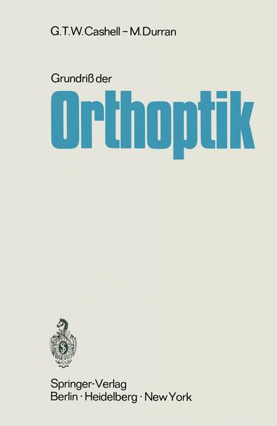 Grundriß der Orthoptik - Coverbild